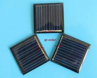 30PCS X 1V 110mA Mini monocrystalline polycrystalline solar Panel small solar cell PV module for DIY solar Kits