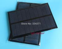 2PCS X 5V 160mA Mini monocrystalline polycrystalline solar Panel,5VDC solar cells module battery charger enducation kits