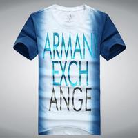 2014 Summer short sleeved cotton T-shirts fashion add fertilizer increased Men's short sleeve