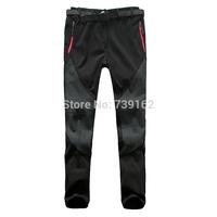 2014 fashion winter women brand windproof warm soft shell Fleece Trousers, outdoor climbing hiking Trousers Free shipping ny146