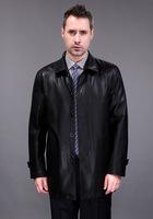 2014 New Men's Suit sheepskin Leather JacketMan Products Mens Fashion Transverse Slim Leather Jackets For Men Plus Size M-XXXL