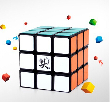 2014 Neocube Shengshou Pyraminx Speedcubing Black Puzzle Standard third-order magic cube Educational toys(China (Mainland))