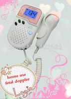 mini baby doppler,angle sound from hand held fetal doppler, pocket fetal doppler built-in battery