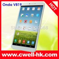 Onda V819 3G Tablet PC MTK8382 Quad Core 8.0 Inch IPS Screen Android 4.2 1GB RAM/16GB ROM WIFI GPS