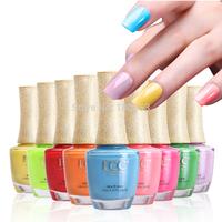 2014 New Fashion Natural & Eco Multi Colors Nail Art Nail Polish Sets Order 4 Sets Get 1 More Set Free Gift  Free Shipping
