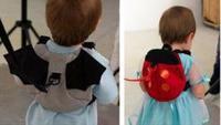 Free Shipping  bats  ladybug Baby Kid Keeper Toddler Walking Safety Harness Ladybug Backpack Bag Strap Rein HA0014