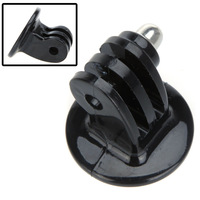10 pcs/lots Black Monopod Tripod Mount Adapter for GoPro Hero HD 1 2 3 3+ Camera, Free Shipping #F80567
