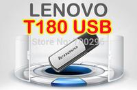 Free shipping Wholesale Lenovo T180 original Usb flash drive 16G 32G 64G usb 2.0 16g 32g usb 2.0 flash drive Memory storage disk