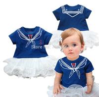 kids Girl Princess romper, girls one-piece dress ,summer little girls jumpsuit  ,Kids Clothes ,free shipping