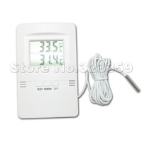 LCD Indoor and Outdoor Digital Thermometer Weatherglass Temperature Meter HX-210