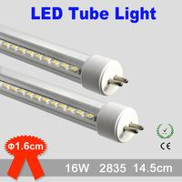 16W 2835 smd t5 led fission tube light 1.5m led tube lighting 85-265v t5 led tube light 1500mm warranty 2 years CE RoHS x 32PCS