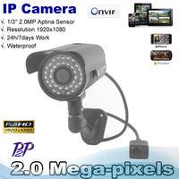 Best price Onvif  1080P 2.0Mp Network CCTV camera 36LEDs outdoor Waterproof IR Bullet P2P Camera