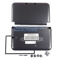 Black Full Housing Shell Case For 3DS LL / 3DS XL