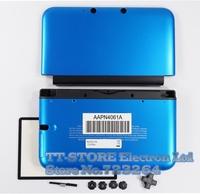 Blue Full Housing Shell Case For 3DS LL / 3DS XL