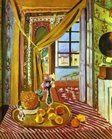 free shipping  henri matisse Interior with Phonograph,  100% Hand Painted Oil Painting Repro  for wall art home decor item