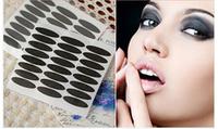 Korea Black double-fold Eyelid Eyeliner stick Double-fold Eyelid Strip Paper 144Pair/Box