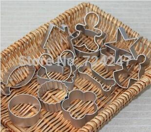 400pcs Freeshipping / lot 2014 cortador de biscoito mickey ferramentas ferramentas de cozimento do molde do bolo do coração / chocolate estilo de decoração do bolo toolsG11(China (Mainland))