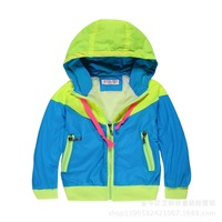 2014 New Style Kids Jackets Coats Boy Wind-Breaker Coat And Jacket For Children Spring And Autumn Retail W3056