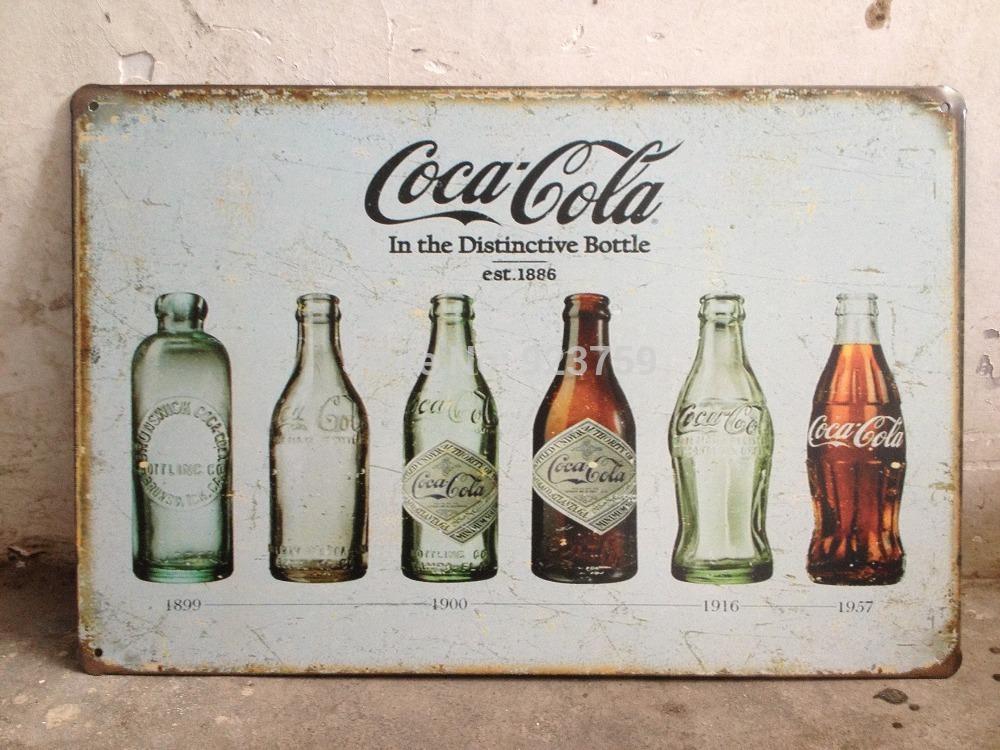IN THE DISTINCTIVE BOTTLE EST 1886 Vintage Tin Sign Bar pub home Wall Decor Retro Metal Art Poster(China (Mainland))