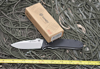 Ganzo G704 G704-B  EDC Pocket Folding Knife 440c Blade G10 Handle w/ Paper box (No  Sheath)
