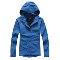 2014 fashion summer winter women brand portable skin coat hooded waterproof assault clothing outdoor jackets Free shipping ny146