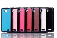 For LG L90 Aluminium PC hard Cases New Back Cover Case For LG L90 D410 Dual Sim Card Phone High Quality Free Shipping