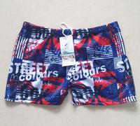 Hot men's swimwear swimming trunk boxer Beachwear for man free shipping