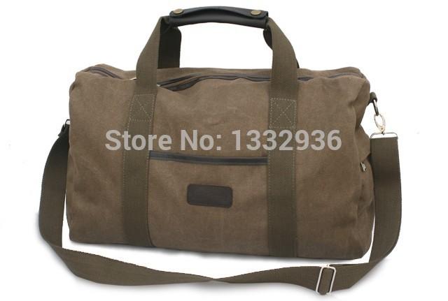 BG brief retro men travel bags khaki canvas luggage bag famous brands designers tote mj 2014 new zipper big shoulder bags(China (Mainland))