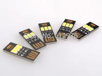 Portable Mini USB Light 3 LED Night Light Lamp white Light for Power Bank Computer Laptop (5 pcs/lot) Free Shipping