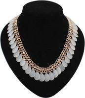 EUN004 Top Quality Guarantee Choker Necklaces Hot Sale 2014 New Fashion Jewelry Chunky Statement Women