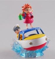 1 pcs Gake No Ue No Ponyo PVC Action Figure Model, Anime Miyazaki Hayao Figure Toys, Novelty Display Figure