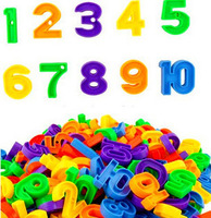 (45pcs)3C Children PVC Plastic Puzzle Block Toy Digital Bead Rope Building Color Children Educational Visual Practical Toys Gift