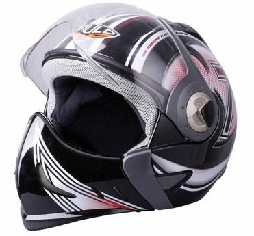 Пауло s530 мотоциклов используют полное лицо открытым лицом шлем 2 способ