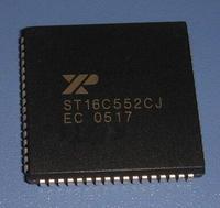 Free shipping   ST16C552CJ   ST16C552CJ68   PLCC68   5PCS/LOT   100%NEW   DUAL UART WITH 16-BYTE FIFO AND PARALLEL PRINTER PORT