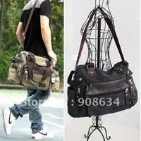 High Quality Brand New Canvas Hobo Casual Handbag Shoulder Bag for Men