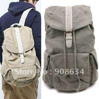 Fashionable Design Brand New Canvas Travel Backpack Shoulders Bag for Men