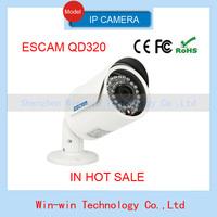 2014 EU plug Escam Fighter QD320 720P IR Bullet H.264 1/4 CMOS Night Vision Waterproof P2P Onvif 3.6mm fixed lens IP Camera