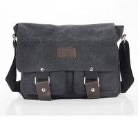 Wholesale Canvas Unisex Bag Shoulder Casual Sling Belt Tote Business Briefcase Handbag