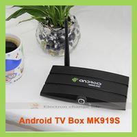 New arrival MK919S TV box sticks mini PC with Android 4.4 RK3188 Quad Core 2GB RAM 8GB ROM with 2.0M camera WIFI HDMI RJ45