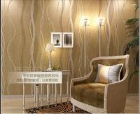 Luxury flock non woven glitter metallic classic damask wallpaper design modern textured wallcoverings vintage wall paper
