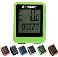 New Large lcd speedometer Bicycle Computador Bicycle Speed Meter Waterproof Temperature Testing Stopwatch