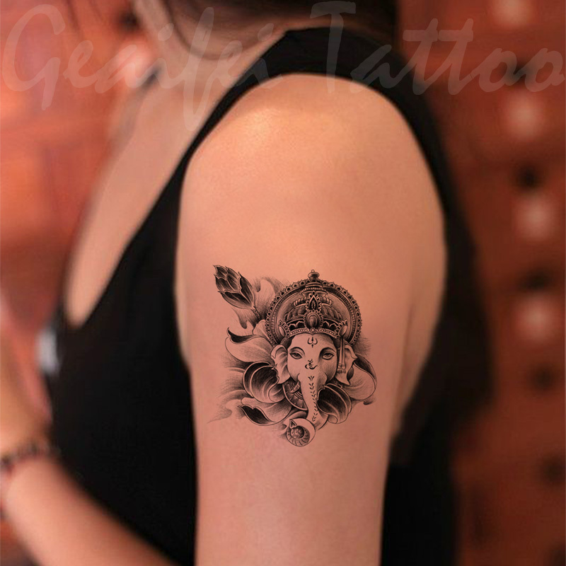 Thai Elephant Tattoos Tatoo Thai Elephant God