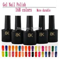 soak Off Shellac UV Led Gel Nail Polish,168 Colors 10ml 12pcs/Set(10Color Gel+1Base+1Top Coat)Professional Gel glue Lacquer