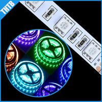 5m RGB 300 LED 5050 SMD 12V flexible light 60 led/m 5050 Non waterproof LED strip ribbon string Free  and drop shipping