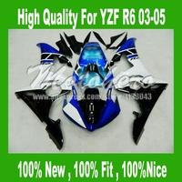 Free custom fairings for 03 04 05 Yamaha YZF R6 03 04 05 YZF-R6 03-05 YZF600 R6 2003 04 2005 #2ee3s fairing kits
