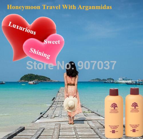 Набор по уходу за волосами 2sets/50 + 50 Arganmidas 50 * 2 Freeship Moroccan Argan Oil kit 7mbr25sa120 50