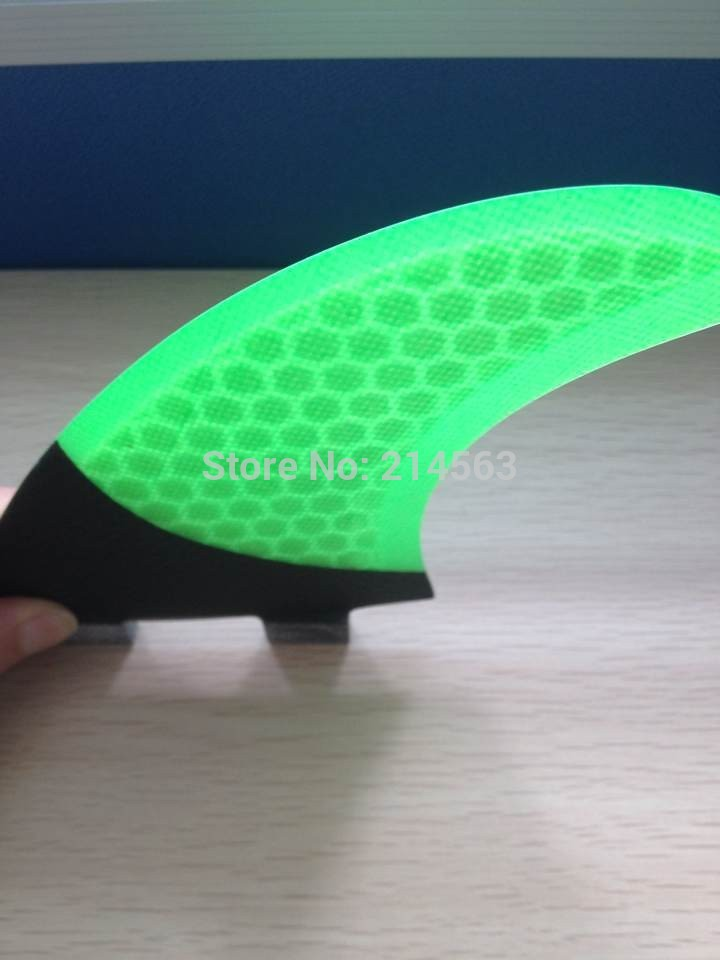 High quality surfboard fins carbon fcs surfboard fin fcs surf fins honeycomb surfboard fin for sale(China (Mainland))