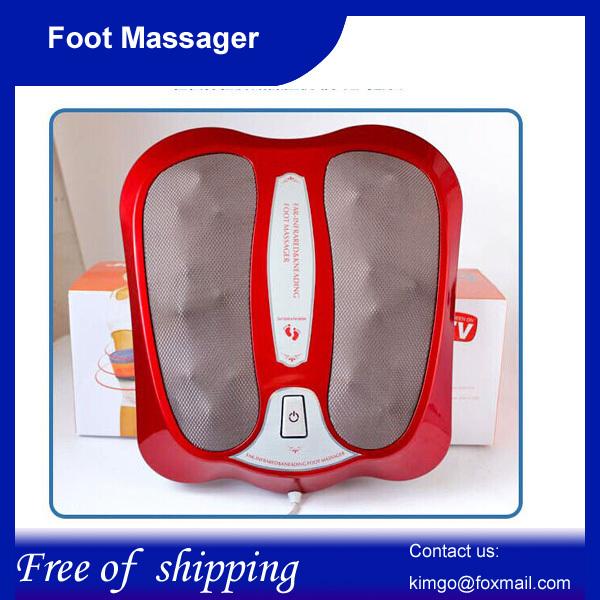 Foot massage machine heating far infrared Heating Treadment kneading function,Free shipping(China (Mainland))