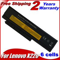 4400MAH 11.1V Laptop Battery For Lenovo ThinkPad X220 X220i 0A36282 42T4875 ASM 42T4862 FRU 42T4863 42T4873 42Y4868 42T4861