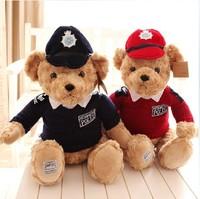 2014 Hot teddy bear plush toys teddy bear stuffed toys animal plush dolls with clothes for child birthday gift TY53